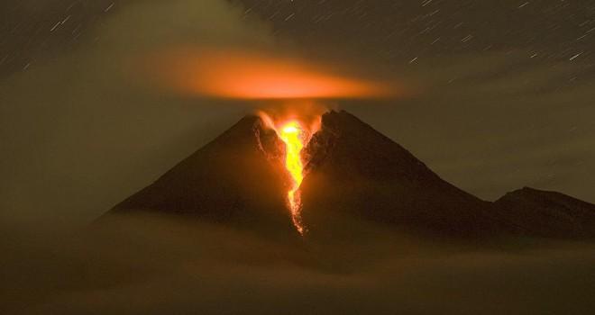 Endonezya'daki Merapide patlama