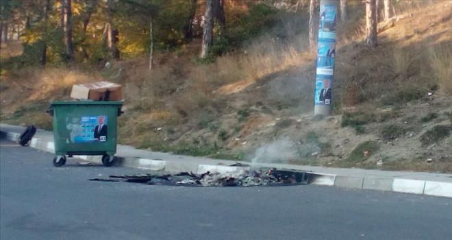 Bulgaristan'da Türklerin seçim zaferi sonrası çevreye zarar verildi