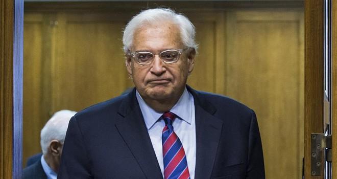 Tel Aviv Büyükelçisi Friedman'dan Abbas'a cevap