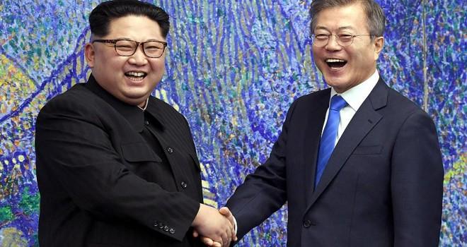 Kore'deki tarihi zirveden barış kararı çıktı