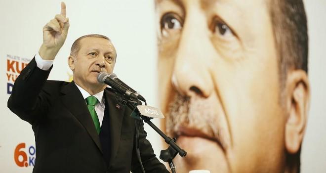 Erdoğan: Bu vatanın tek bir karışına kimseye el uzattırmayız