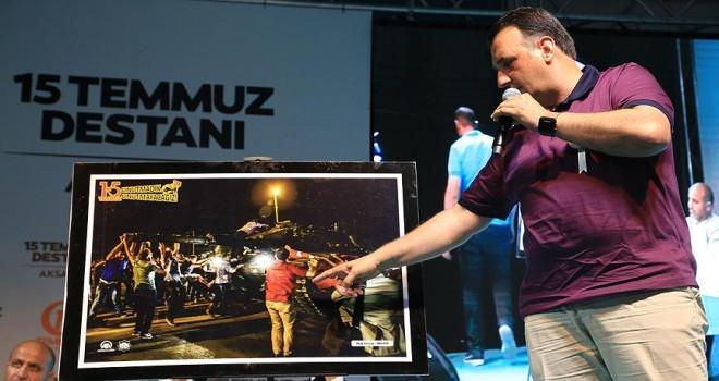 Biz Türk milletiyiz darbeye asla müsaade etmeyiz