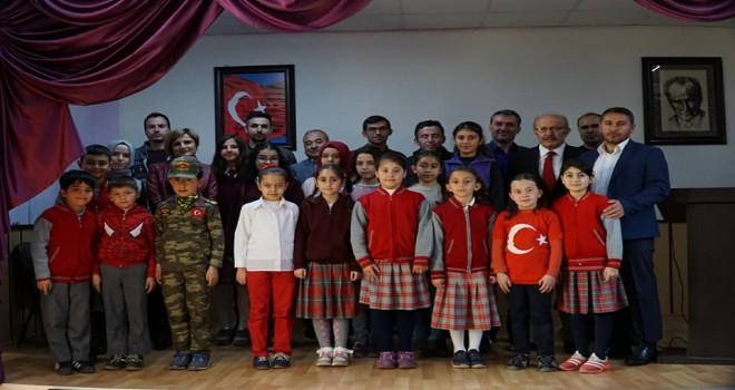 Derebucak'ta, İstiklal Marşı'nı  Güzel Okuma Yarışması yapıldı