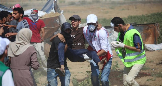 Gazze'de yaralıların tahrip uçlu mermiyle hedef alınmış