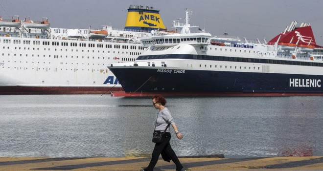 Yunanistan'da ana kara ile adalar arasındaki bağlantı kesildi