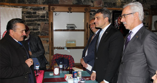 Umut Oran,  Seydişehir'de sivil toplum kuruluşlarını ziyaret etti.