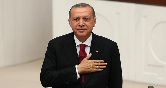 Başkan Erdoğan yemin etti