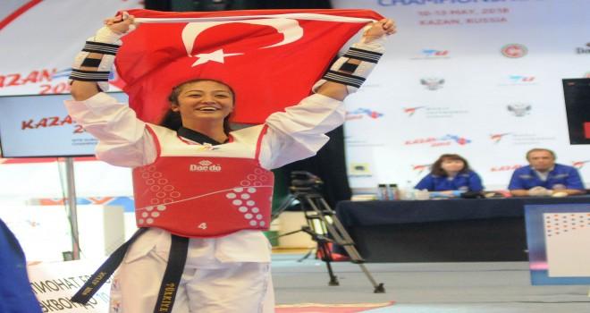 Nafia Kuş, Avrupa Şampiyonu
