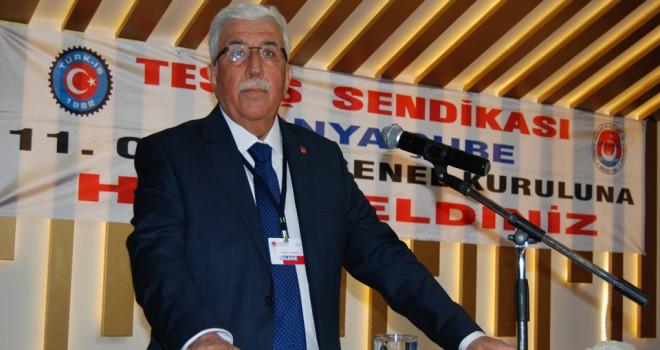 TES-İŞ Konya'dan10 Ocak mesajı
