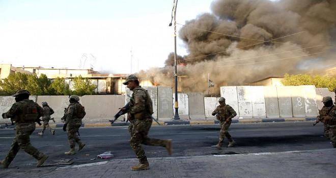 Şii parti binaları ateşe verildi