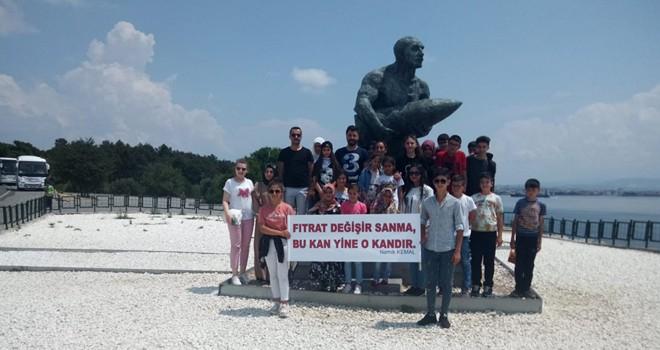 Başarılı öğrencilere  Çanakkale gezisi