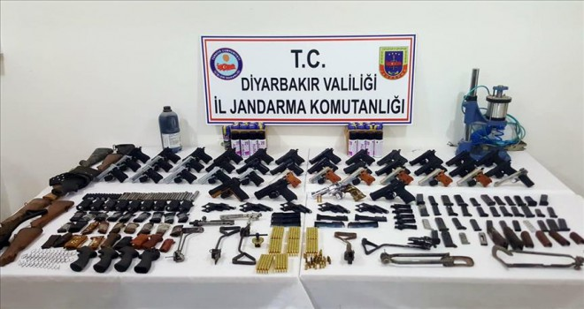 Silah kaçakçılığı operasyonu: 5 gözaltı
