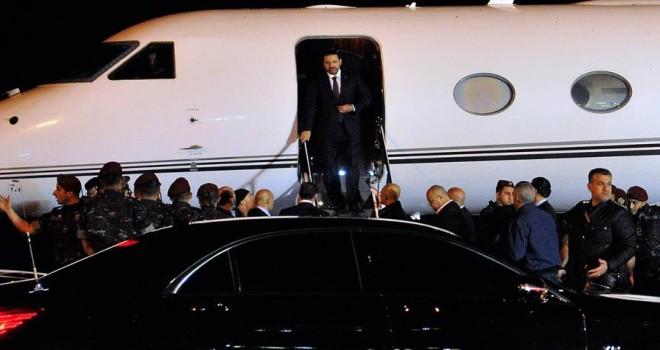 Hariri Lübnan'a döndü