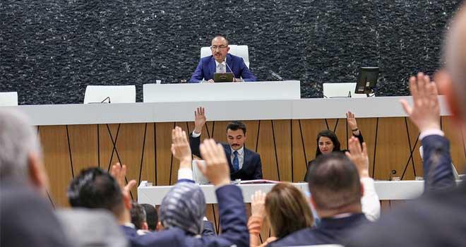Meram Meclisi'nde  görev dağılımı tamam