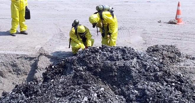 1 milyon tontehlikeli atık var