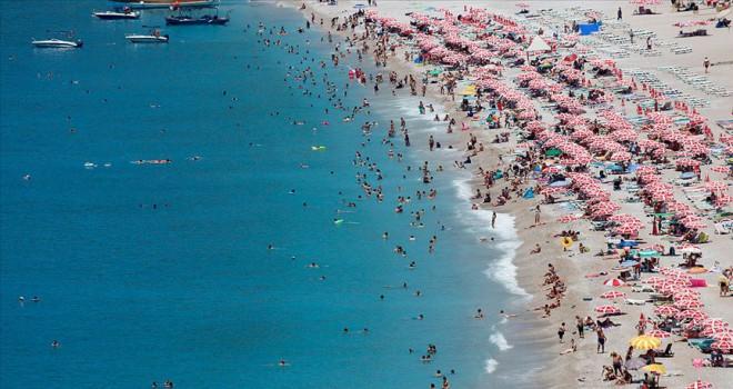 6 ayda 18 milyon 76 bin 506 yabancı ziyaretçi