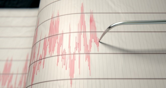 Sivas Kangal'da 3.8 büyüklüğünde deprem