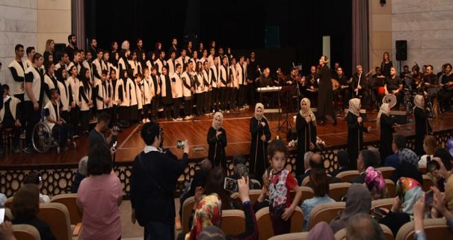 Özel öğrencilerdenunutulmaz konser
