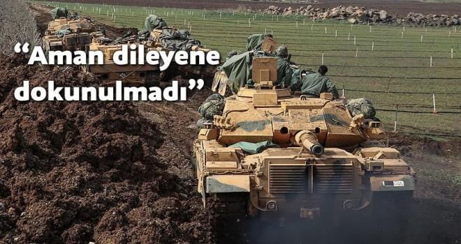 Zeytin Dalı Harekatı'nda 58 terörist sağ ele geçirildi