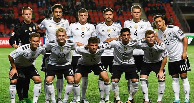 2018 FIFA Dünya Kupası'nda F Grubu: Almanya