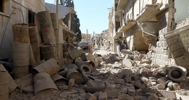 Esed rejimi 70 bine yakın varil bombası kullandı