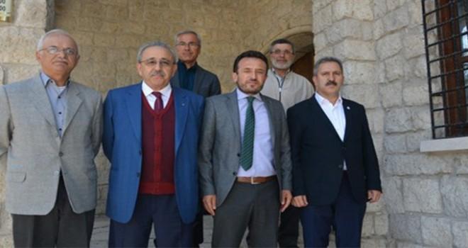 Başkan Yılmaz'dan Çumra'ya ziyaret