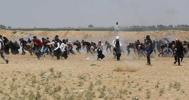 ABD'nin desteğini alan İsrail Gazze'de katliam yapıyor