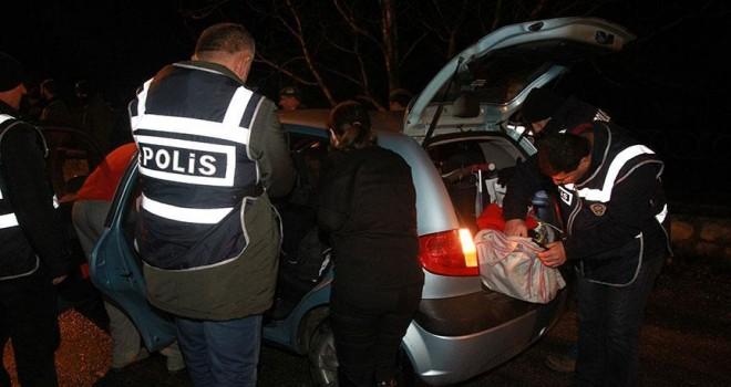 Huzur uygulamasında aranan bin 546 kişi yakalandı