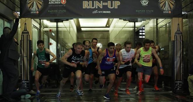 THY sponsorluğunda Empire State Binası koşusu yapıldı