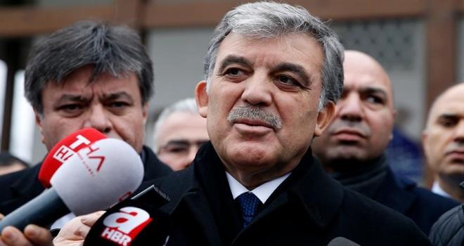 Abdullah Gül yarın basın toplantısı düzenleyecek