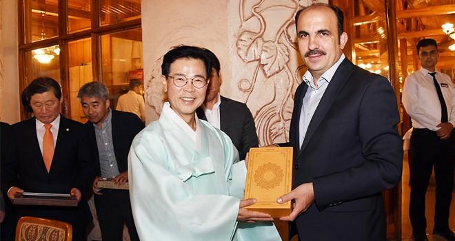 Gangneung'dan Başkan Altay'a ziyaret
