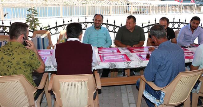 Beyşehir'de sabah buluşmaları
