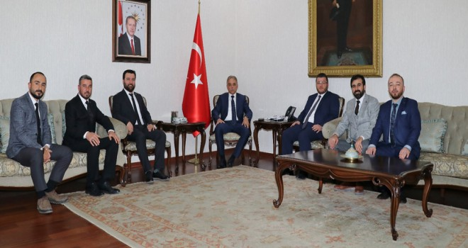 TÜMSİAD Konya'dan Vali Toprak'a ziyaret