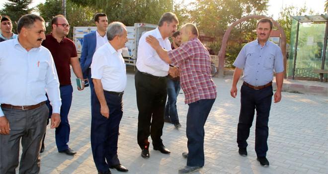 Erdem'den Akşehir'eteşekkür ziyareti