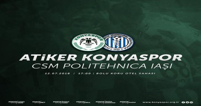 Konyaspor'un hazırlık maçındaki ilk rakibi belli oldu!