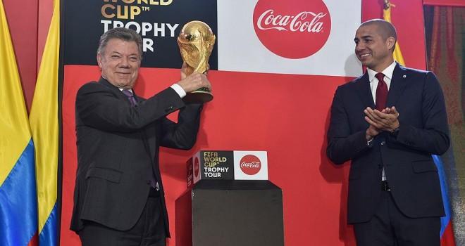 'FIFA Dünya Kupası' Kolombiya'da sergileniyor
