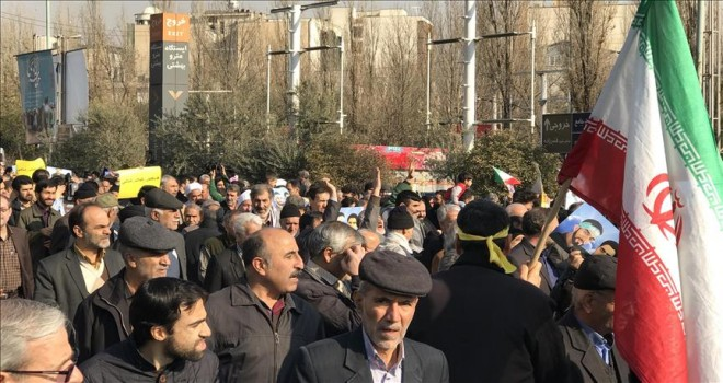 Huzistan'daki gösterilerde yaklaşık 150 gözaltı