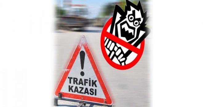 Trafik kazalarında ölü sayısı yüzde 36,5 azaldı
