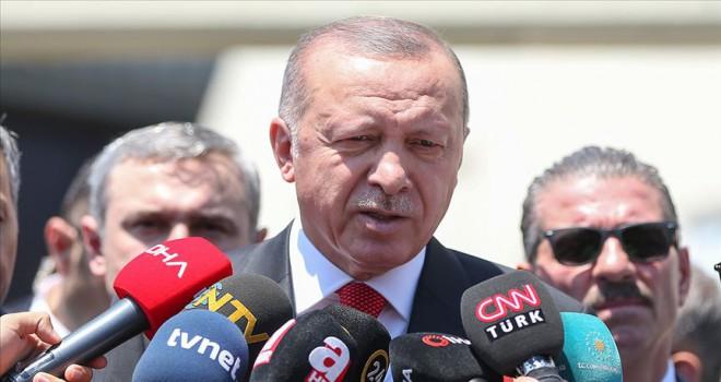 Cumhurbaşkanı Erdoğan: Mücadelemizi yılmadan devam ettireceğiz