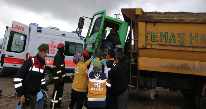 Seydişehir'de kaza