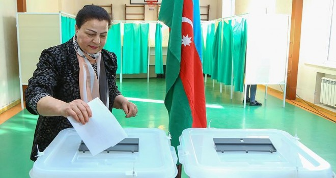 Azerbaycan cumhurbaşkanını seçiyor