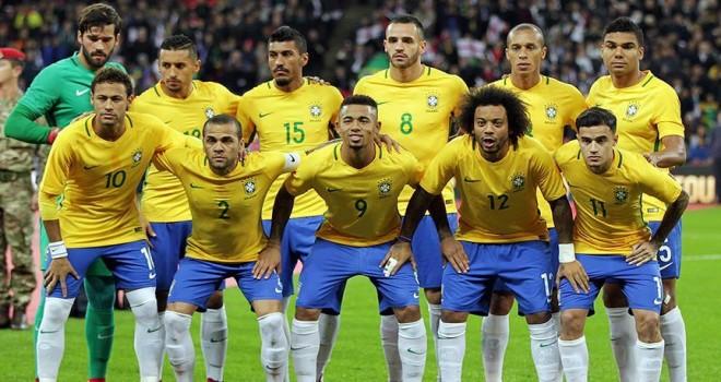 2018 FIFA Dünya Kupası'nda E Grubu: Brezilya