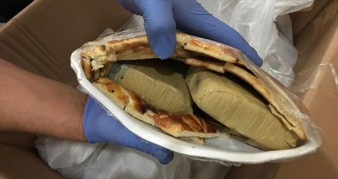 Çöreklerden 26 kilogram eroin çıktı