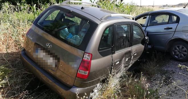 Beyşehir'de  kaza: 6 yaralı