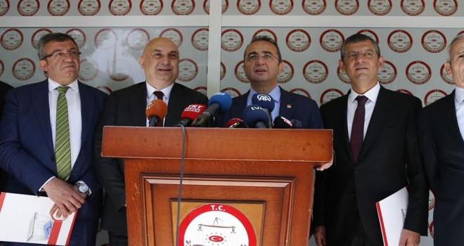 CHP İnce'nin adaylık başvurusunu yaptı