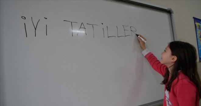 Okullarda 'tatil zili' çalacak