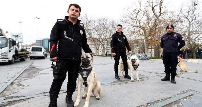 Yılbaşı gecesi İstanbul'da 37 bin polisin görev yapacak