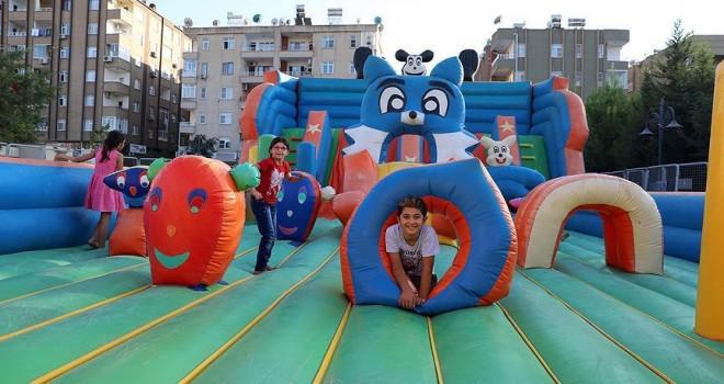 Belediyeden çocuklara 'eğlence parkı'