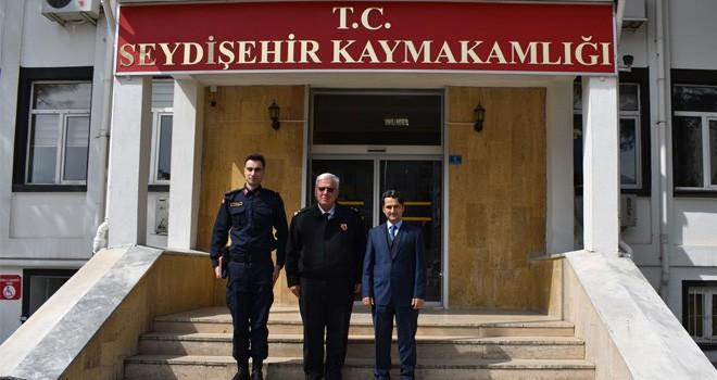 Seydişehir Kaymakamı Aydın'a ziyaretler