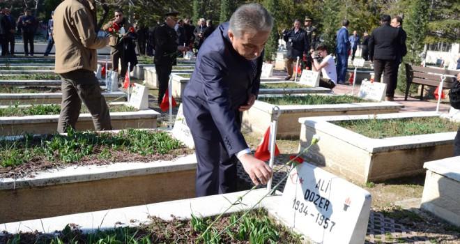Konya'da 18 Mart töreni